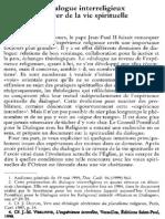 P.-fr. de Bethune Osb, Le Dialogue Interreligieux Au Foyer de La Vie Spirituelle. NRT 121-4 (1999) p.557-572
