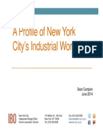 City IBO report on industrial employment