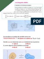 Cambio de Variable en Integrales Multiples A2