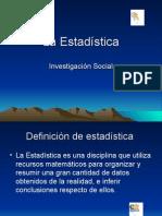 Enstadística en la Investigación Social