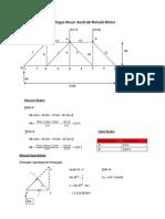 Tugas Besar Analisa struktur statis tertentu II Metode Ritter