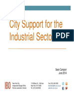 City IBO report on industrial spending