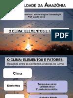 Umidade,pressão,precipitação, vento, evapotranspiração,bal hidrico - Prof Danilo