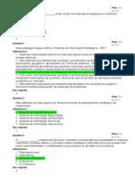 Fundamentos Da Administração Da Informação - Avaliação 2
