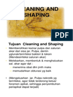 Cleaning and Shaping Od v-2 OHP