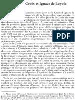 Pierre Gervais Sj, Jean de La Croix Et Ignace de Loyola I NRT 118-5 (1996) p.671-689