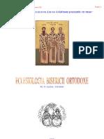Invataturi Ortodoxe - Parintele Veniamin Ilie (despre Sfintele Taine)