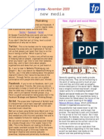 Social Medea - News from Triarchy Press November 2009