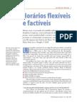 Horários flexíveis e factíveis