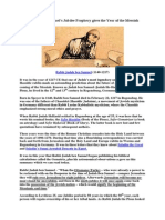 Profetia Celor Zece Jubilee a Rabinului Iuda Ben Samuel-Engleza