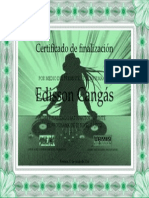 Certificado Djs