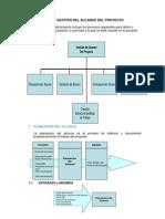 Plan de Gestión Del Alcance Del Proyecto