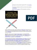 Resumen , Datos Informes Tecnicoa y de Mas Comentarios Star Wars