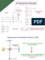 1. Elementi Di Relatività Ristretta, Effetto Fotoelettrico e Compton