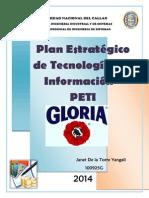 Plan Estrategico Peti-Gloria