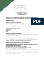 Currículum Lic. Ana Lilia López