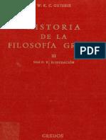 Guthrie W K C Historia de La Filosofia Griega III 1971