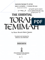 The Essential Torah Temimah - Bereishis