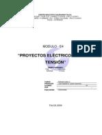 Proyecto Electrico en Baja Tension