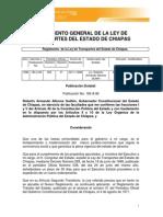 Chiapas Regulacion19 Ley de Transporte