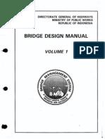 [Cvl]-BMS Bridge Design Manual Vol 1