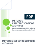 Espectrofotometría de Absorcion y Emision Atomicas