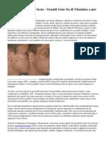 La vitamina A Per l'Acne - Grandi Cose Su di Vitamina a per Curare l'Acne