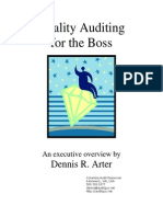Auditing for the Boss