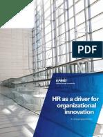 Hr Driver Organizational Innovation