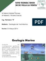 Geología Marina