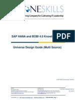 87857055 SAP HANA and BOBI 4 0 Universe Design Guide Multi Source V2