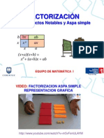 Sem 12-Factorización Productos Notables y Aspa Simple