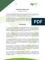 Decreto 2013 Decggl 1959