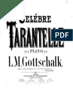 Gottschalk Celebre Tarantelle