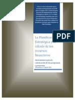 Doc Nº 3 - La Planificación Estratégica y el cálculo de los recursos financieros.pdf