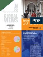 HKU - BJ Brochure - Academic Year 2010
