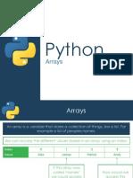 Python - Arrays