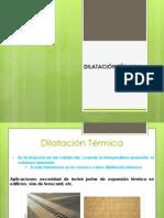 Dilatacón térmica