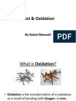 Rust & Oxidation