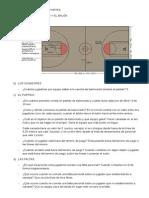 Trabajo Teórico de Baloncesto - Preguntas Resuelto