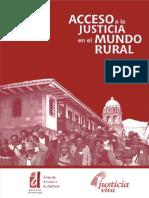 Acceso a La Justicia en El Mundo Rural