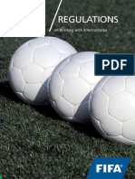 2014, FIFA, Regulations on Working With Intermediaries