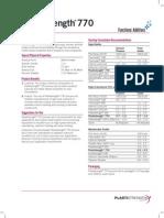TDS - Plastistrength 770 - Arkema