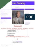 Pranic Healing Information