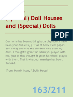 Special Doll Houses and Special Dolls