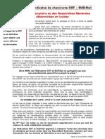 Tract Unitaire CGT SUD Rail Du 19-06-2014