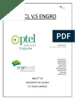 Ptcl vs Engro Portfolio Analysis