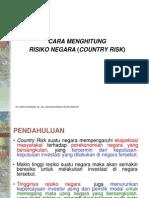 Materi After UTS Risiko Negara (Country Risk)
