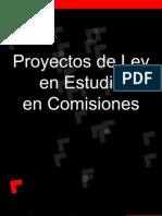 Proyectos en Estudio en Comision