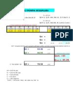Calculations of Hydraulic Gear Pumps